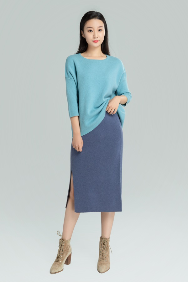 羊绒裙裤加工定制