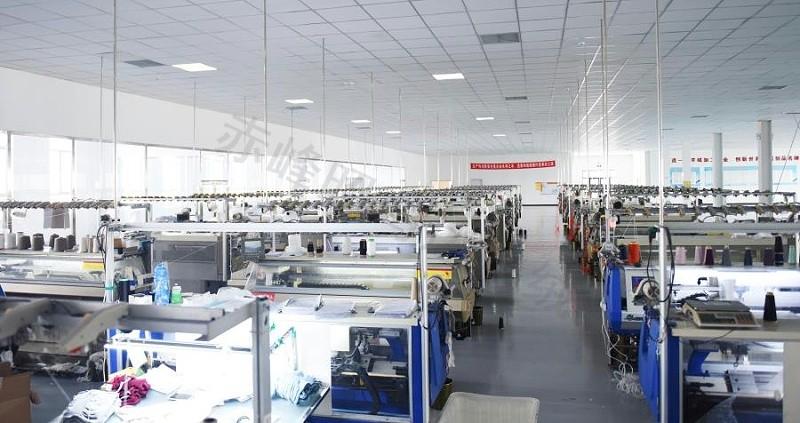 羊绒衫生产厂家编织车间