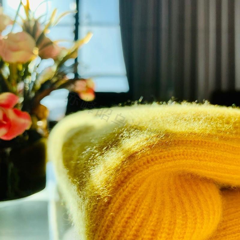羊绒衫加工的绒面是怎么出来的