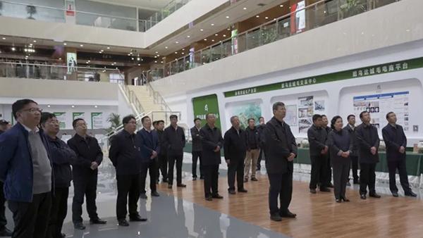 【访问考察】赤峰市重点项目建设现场观摩会——走进赤峰昭乌达羊绒