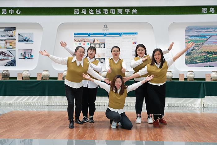 昭乌达羊绒-网络营销团队