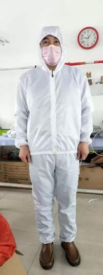昭乌达羊绒防护服