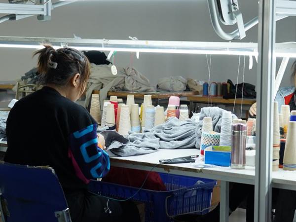 昭乌达羊绒羊绒衫加工案例:wool