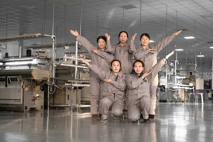 昭乌达羊绒-生产团队